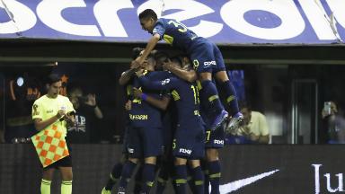 AUDIO: 3º Gol de Boca (Sebastián Villa)