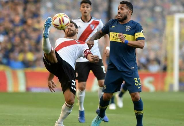 FOTO: El superclásico River-Boca se jugará el 1º de septiembre
