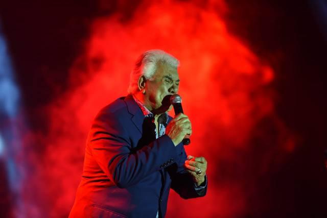 FOTO: Raúl Lavié, figura de la primera velada de tango en La Falda