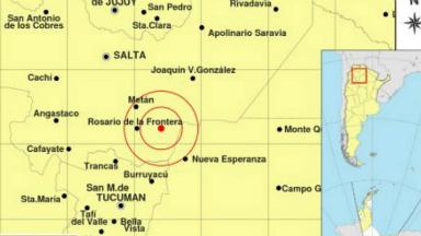 AUDIO: Un sismo de 4 grados despertó a los salteños