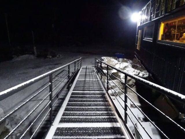FOTO: Imágenes de una nueva nevada en las Altas Cumbres