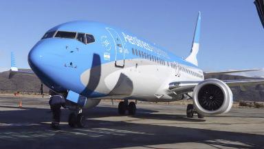 AUDIO: Aerolíneas Argentinas cancela sus vuelos del 30 de abril