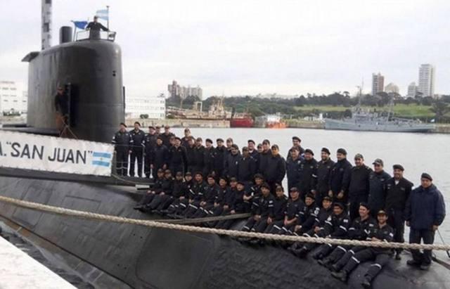 FOTO: El ARA San Juan desapareció el 15 de noviembre pasado con 44 tripulantes.