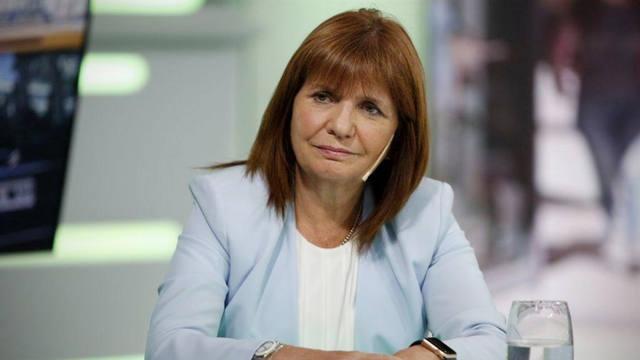 FOTO: La ministra de Seguridad, Patricia Bullrich