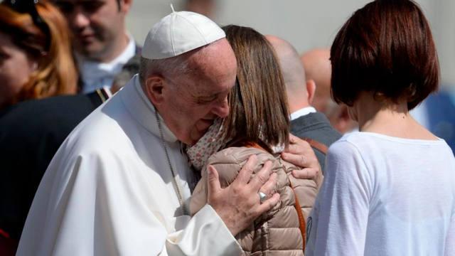FOTO: Francisco saludó la
