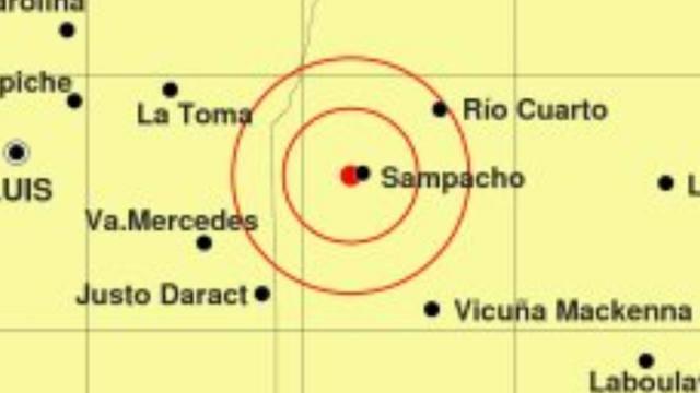 FOTO: Un sismo se sintió fuerte en Sampacho