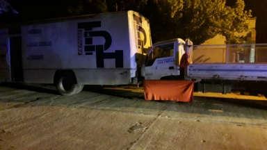 AUDIO: Joven mecánico murió aplastado por la cabina de un camión