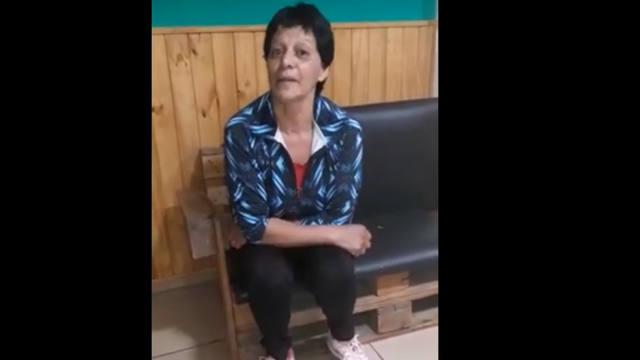 FOTO: En un video, la mujer de Moli negó denuncia por violencia