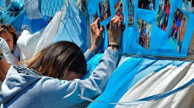 FOTO: Abrieron los casilleros de los tripulantes del ARA San Juan