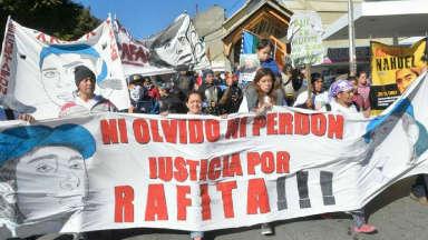 AUDIO: Incidentes en la marcha por Rafael Nahuel