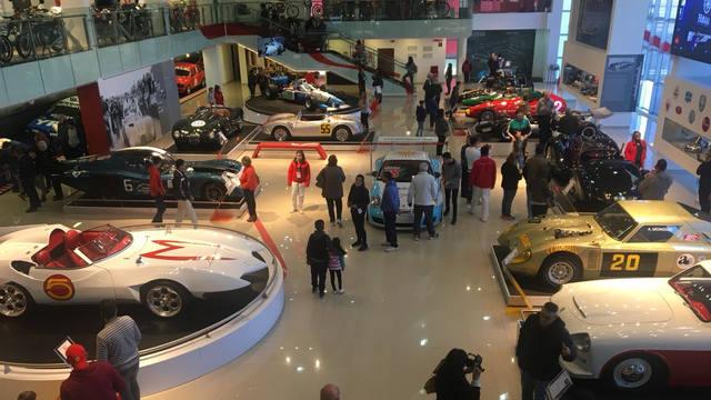 FOTO: El increíble Museo del Automóvil en el Autódromo de Termas