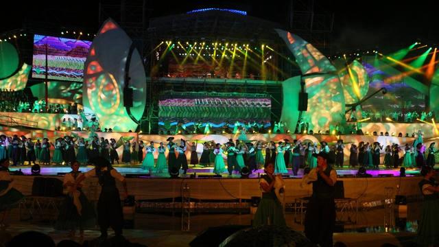 FOTO: Acto central Fiesta Nacional de la Vendimia en Mendoza