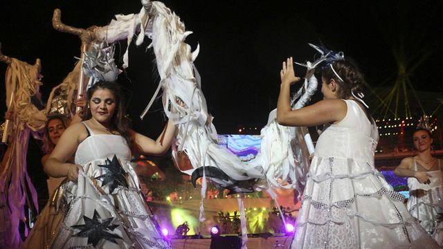 FOTO: Acto central de la Fiesta Nacional de la Vendimia en Mendoza