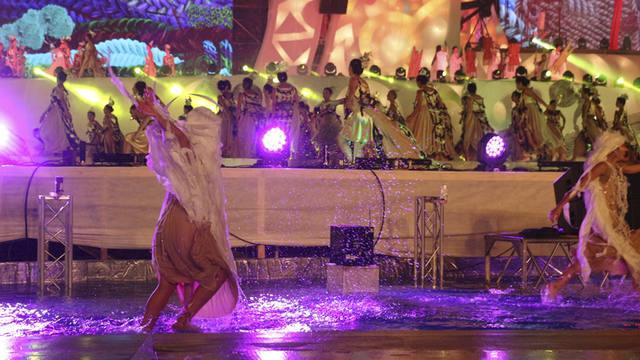 FOTO: Acto central de la Fiesta de la Vendimia en Mendoza