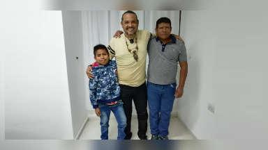 AUDIO: Bernabé, el niño wichi que se operó gracias a Lucio Rojas