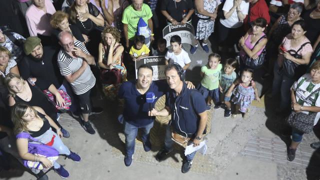 FOTO: Vinderola y Carrasquera en Cosquín