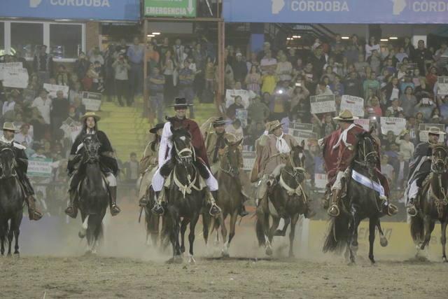 FOTO: Desfile de caballos peruanos