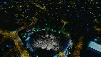 AUDIO: Vista aérea del Anfiteatro Tránsito Cocomarola