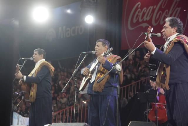 FOTO: Los Manseros Santiagueños, figuras de la primera velada.