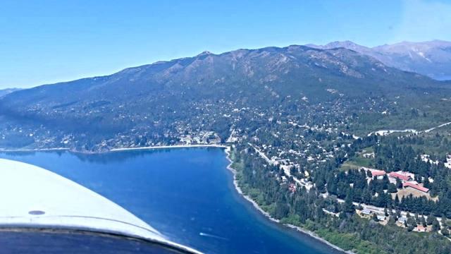 FOTO: Paseo aéreo por los cielos de Bariloche