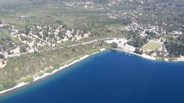 FOTO: Bariloche desde el aire.