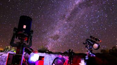 AUDIO: Calingasta es elegida para hacer turismo astronómico