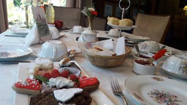 AUDIO: Equs, la única casa de té galés de Bariloche