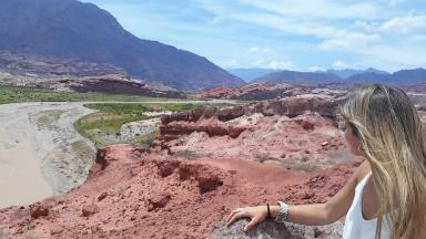 AUDIO: La Quebrada de las Conchas ofrece imponentes paisajes