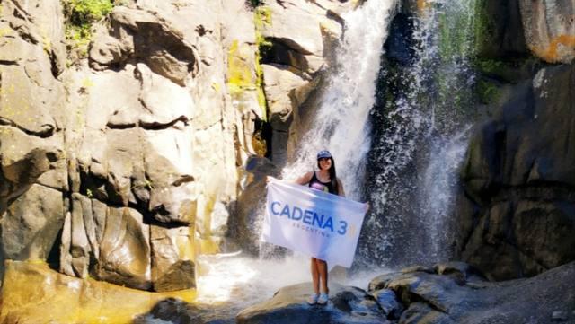 FOTO: La cascada de Tanti, un paraíso de agua cristalina