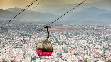AUDIO: Teleférico San Fernando te muestra la mejor vista de Salta