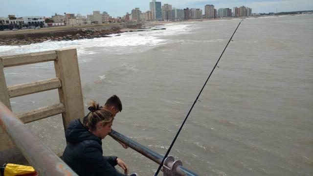 FOTO: Orlando visitó el Muelle de los Pescadores en Miramar