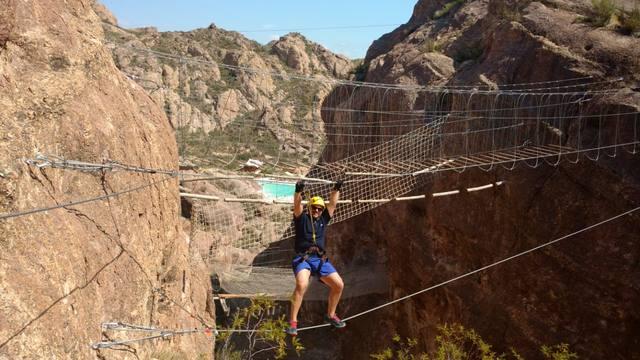 FOTO: Sebas Peri Robledo conquistó San Rafael por río y montaña