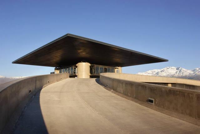FOTO: O'Fournier, una bodega premiada por su arquitectura