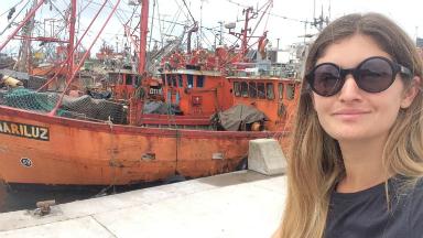 AUDIO: Micaela Rodríguez en la Banquina de los Pescadores