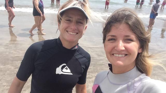 FOTO: Stand up paddle, el deporte que es furor en Mar del Plata
