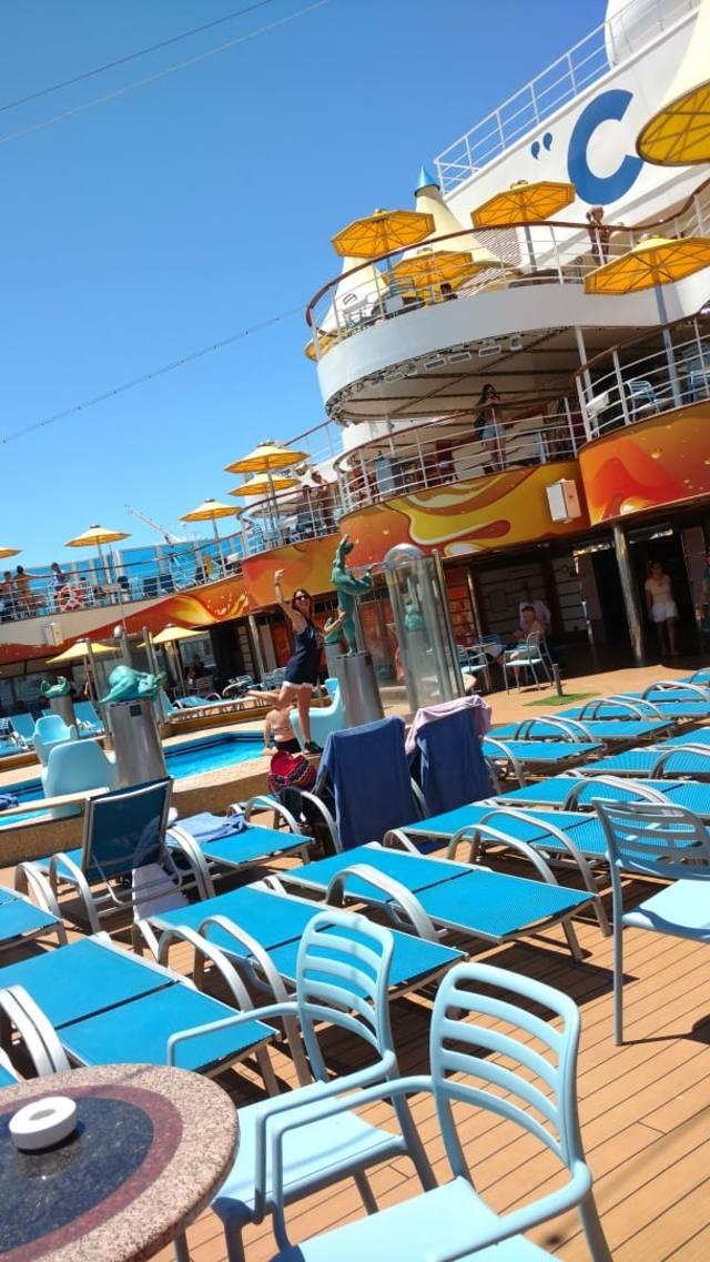 FOTO: El lujoso crucero Costa Fascinosa, una ciudad flotante