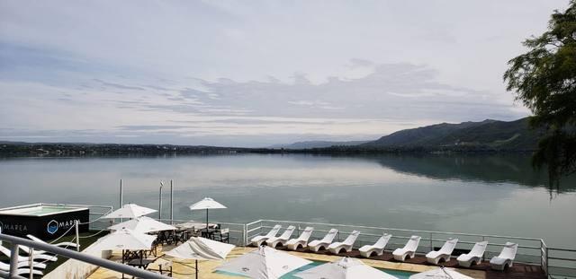 FOTO: FM Córdoba se traslada a orillas del lago San Roque