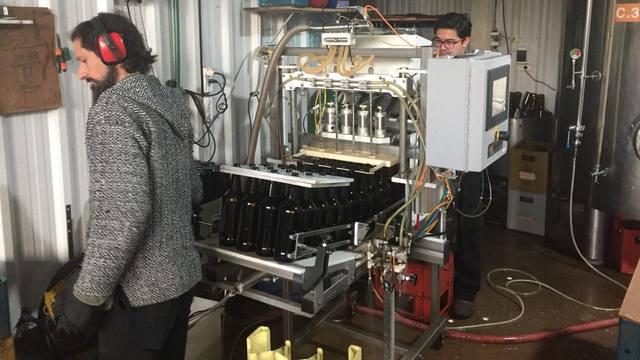 FOTO: Cerveza artesanal, desde Ushuaia a toda la Antártida