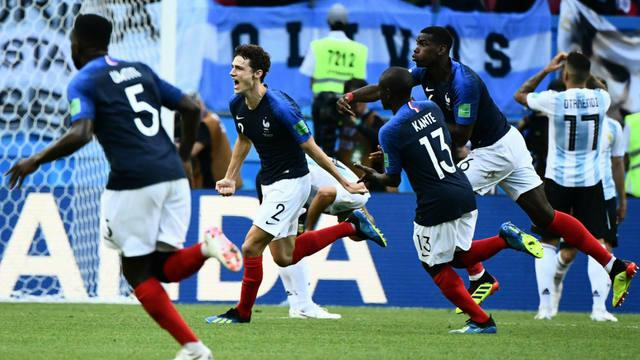 FOTO: El gol de Pavard a Argentina, elegido el mejor del Mundial