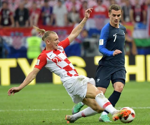 FOTO: El puntaje de los jugadores franceses y croatas