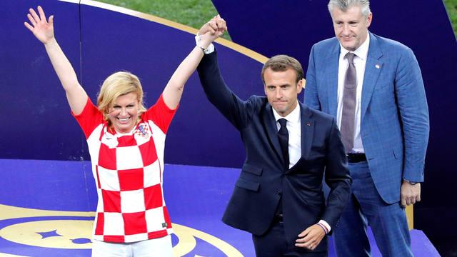 FOTO: Las postales que dejó la gran final entre Francia y Croacia