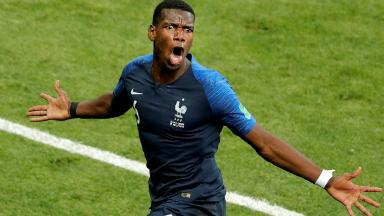AUDIO: 3º Gol de Francia (Pogba)