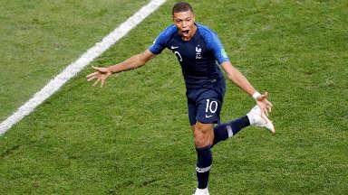 AUDIO: 4º Gol de Francia (Mbappé)