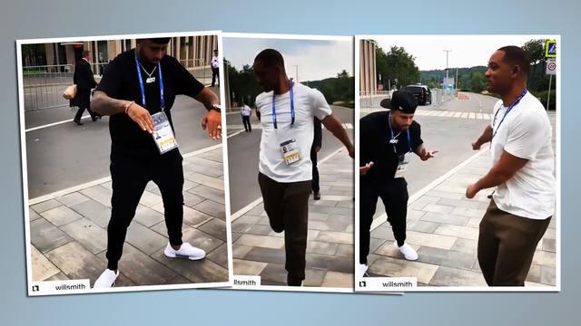 FOTO: El divertido duelo de baile entre Will Smith y Nicky Jam