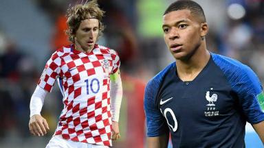 AUDIO: Mbappé y Modric, figuras finalistas en Rusia