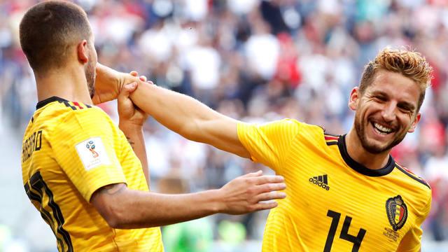 FOTO: Reviví los dos goles que le dieron el triunfo a Bélgica