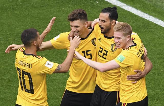 FOTO: Bélgica le ganó a Inglaterra y se quedó con el tercer puesto