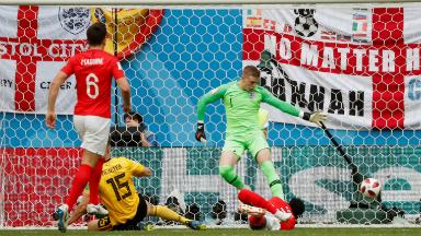 AUDIO: 1° gol de Bélgica (Meunier)
