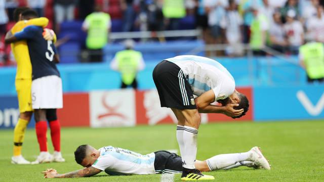 FOTO: Desilusión, la palabra que grafica la actuación de Argentina