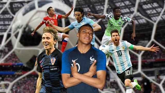 FOTO: Elegí el mejor gol de la Copa del Mundo
